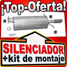 Silenciador Delantero MAZDA 626 V 1.8/1.9 2.0 16V 04.1997-12.2003  Escape MMU