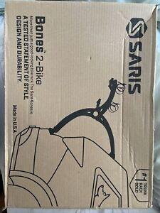 Saris Bones 2 Bike Cycle Rack Black Carrier Boxed + Instructions 805BL