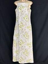 Tommy Bahama Hibiscus Hula Floral Hawaiian Cruise Long Dress Size 4 New NWT