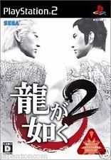 Used PS2  Sega Yakuza Ryu ga Gotoku 2  SONY PLAYSTATION JAPAN IMPORT