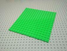VINTAGE BIANCO 2x1 1x2 unità di base Piastra Parte di Ricambio//mattoni x8 Genuine LEGO LEGOLAND