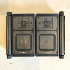 Sony APM-X5A Speaker System 2 pairs Used Tested Working Vintage From Japan