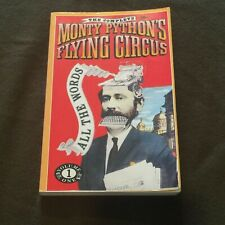 The Complete Monty Python's Flying Circus All the Words Volume 1 Softback Book