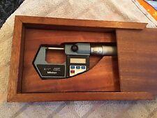 """Mitutoyo digital micrometer 0-25/0-1"""""""
