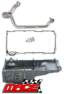 OIL SUMP GASKET KIT & PICKUP TUBE FOR LS CONVERSION INTO HOLDEN BELMONT HQ HJ HX