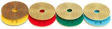 4 Inch Diamond Polishing Pad SET Wet/Dry 4 STEP System Granite Stone Concrete