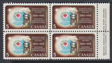 Canada 1968 Hydrology block of four MNH