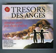 4 CDs RCA RED SEAL (NEW) TRESORS DES ANGES