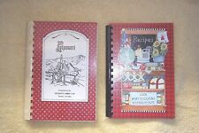 ARIZONA- 2 COMMUNITY FUNDRAISER COOKBOOKS-SIERRA VISTA & TUCSON, SPIRALS,