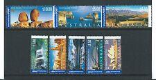 AUSTRALIE 2000 International timbres Ensemble de 8 Non montés excellent état