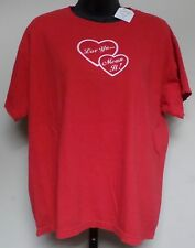 SWEETEA 65612 WOMEN'S RED GRAPHIC T-SHIRT SIZE L NEW WITH TAGS