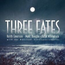 EMERSON KEITH & MIKKELSEN TERJE THREE FATES CD NUOVO SIGILLATO !!