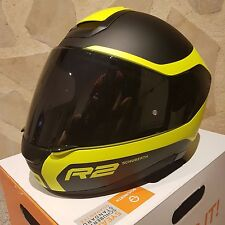 Casque SCHUBERTH R2 Nemesis - écran fumé - Mat Black & Yellow - Size L 59 (NEW)