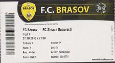 Ticket FC BRASOV vs STEAUA BUCHAREST - Romanian First League - 27/10/2013