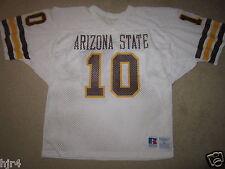 Arizona State Sun Devils ASU #10 Game Used Worn Football Jersey