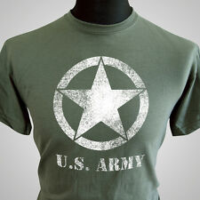 US Army Retro Forces T Shirt Vietnam WWII War Army Vintage Cool Tee Camo