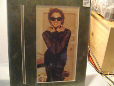 Annette Bening, Hand Signed in silver pen, Color Photo,Vintage Matte 11x14, Star
