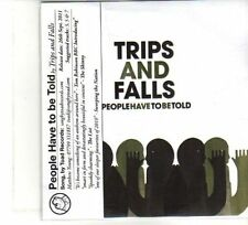 (DW70) Trips And Falls, People Have To Be Told - 2011 DJ CD