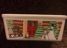 ND Exclusive Snowman Mini Loaf Pan