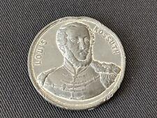 Lajos Kossuth US Visitation Medal 1851 ? White Metal Ultra Rare Hungary Medal