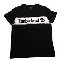 Timberland Men's 100%AUTHENTIC S/S Tshirt size Medium logo black