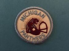Rare Vintage 1983 USFL Michigan Panthers Football Jacket Backpack Hat Patch B
