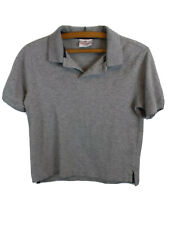 Hanna Andersson Gray Boy's Polo Shirt Size 140 9-11 Years