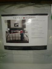 Tommy HIlfiger BUFFALO PLAID Comforter Set FULL/QUEEN 3 Pc. Set GRAY