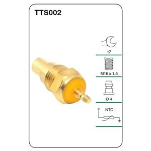 Tridon Water Temperature Sender TTS002 fits Ford Courier 1.8, 2.0, 2.2 D