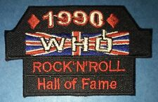 Rare 1990 The Who Rock N Roll Hall Of Fame Hat Hipster Jacket Hoodie Patch 897R
