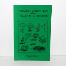 NEPALESE VEGETARIAN AND HEALTHY FOOD RECIPES 2002 paperback cookbook Nepal India