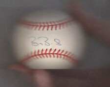 Barry Bonds SIGNED Autographed Baseball with Holder and COA