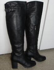 BELLE CLASSIC SERIES NICE Leather Knee High Boots Zip Women Shoes 7 (UK 4.5) 240