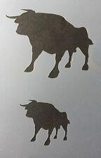 Bull Animal Farm A4 Mylar Reusable Stencil Airbrush Painting Art Craft