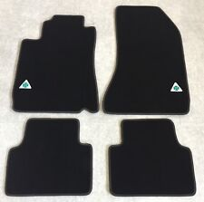 Autoteppich Fußmatten für Alfa Romeo 159 Quadrifoglio Stick Nubukband Velours