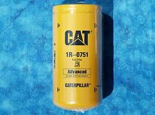 1 NEW CAT 1R-0751 FUEL FILTER SEALED MADE IN USA CATERPILLAR 1R0751 OEM