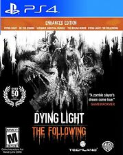 Dying Light: The Following - Enhanced Edition (Sony PlayStation 4, PS4, NEW)