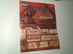 User's Guide Manual - Radio Shack TRS-80 color Pyramid 2000 16K adventure game