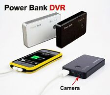 Spy HD 720P Hidden Mobile Power bank Camera Motion Detection Video Recorder Cam