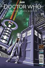 DOCTOR WHO 13TH #1 DOCTOR WHO COMICS DAY EXCLUSIVE VARIANT COMIC BOOK