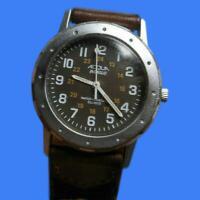 Acqua Indiglo Women's Water Resistant Quartz Watch Leather Vintage New Battery