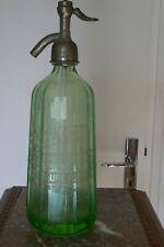 Siphon eau de Seltz OURALINE MAURE de Bretagne LE BRETON syphon bottle