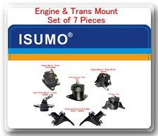 7 Pcs Complete Set Engine & Trans Mount FOR  Honda Accord 2008-2012 I42.4L