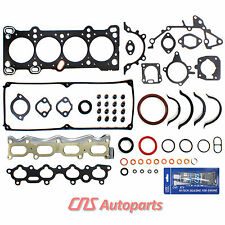 FITS 92-95 MAZDA MX3 1.6L B6 S SOHC 16V FULL GASKET SET