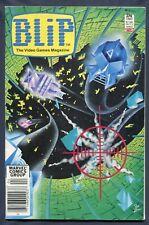 1983 April Blip Video Game Magazine Lock n Chase Mattel Marvel Comics