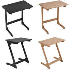 Snack Table Sofa Couch Coffee End Bed Side Table Laptop Desk Furniture Bamboo