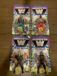 WWE Masters of the Universe Wave 4 Jake The Snake Mr. T The Fiend Seth Rollins
