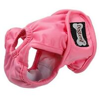 DOGLEMI Pink Washable Female Dog Diapers Reusable Puppy Leakproof PhysiologI7F6