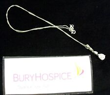 Ladies Silver Necklace & Pendant with Gems (WH_8831)