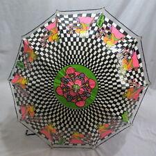Vtg 1960s Peter Max Funbrella Vinyl Psychedelic Umbrella